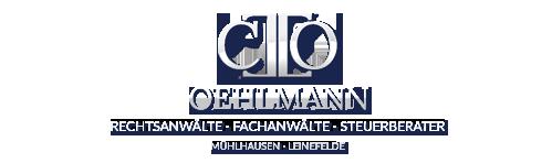 Steuerberater Mühlhausen – OEHLMANN Fachanwaelte Logo